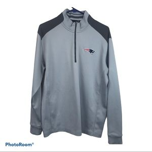 NIKE NFL New England Patriots 1/4 Zip Pullover